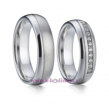 Ocelove Snubni Prsteny 001 Romeo A Julie Par Hodinky Casio A