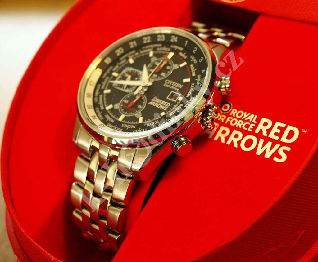 Pánské hodinky Citizen CA0080-54E Red Arrows - Hodinky Casio a Citizen eb5a78b7b7
