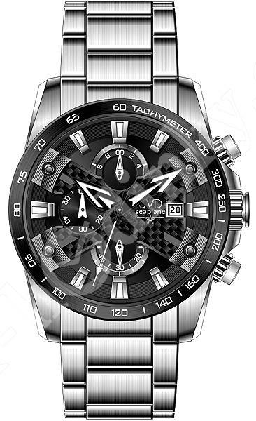 12fef499d63 Pánské hodinky JVD JVD W51.3 Seaplane - Hodinky Casio a Citizen