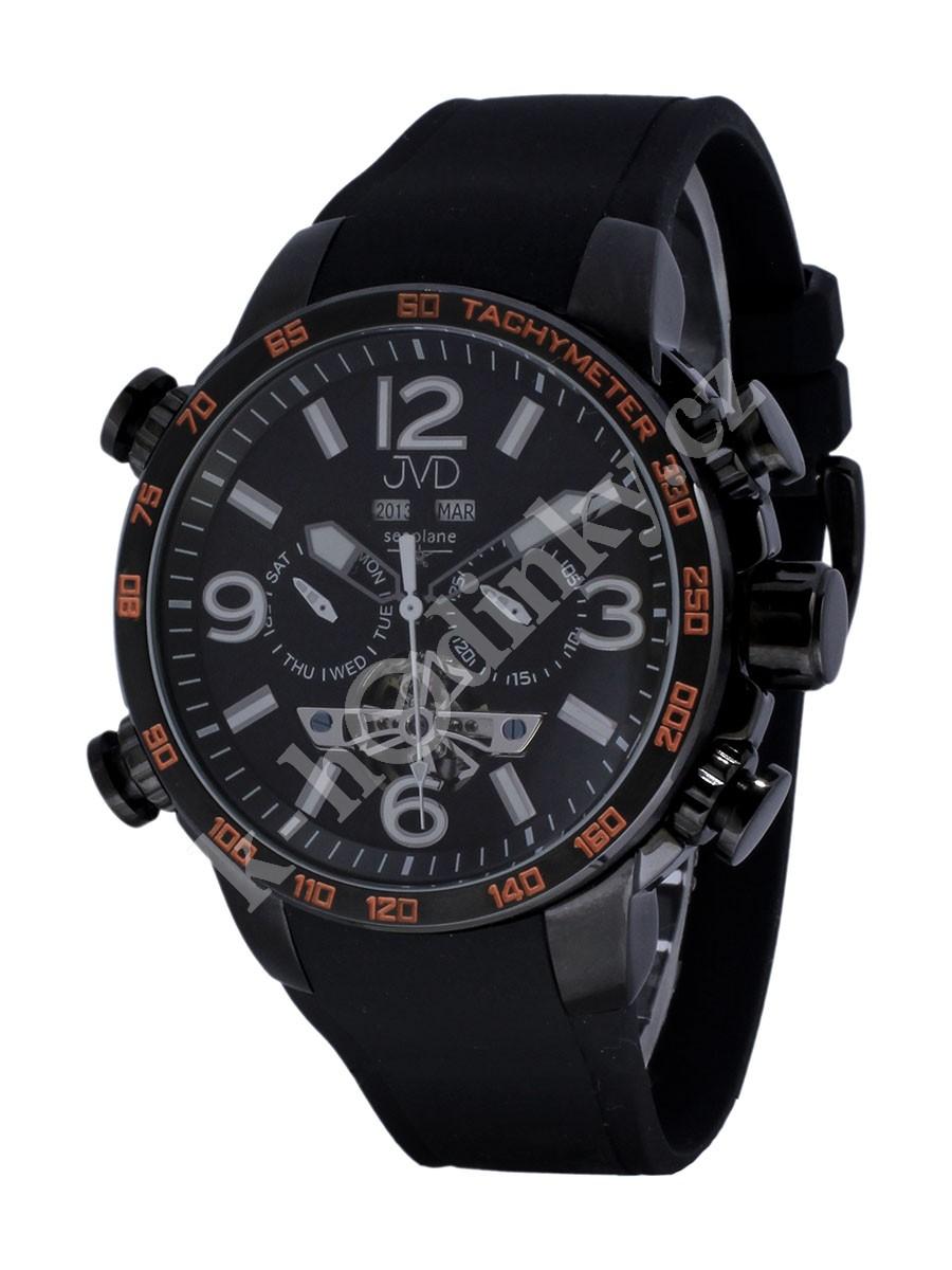 087ab5aeed1 Pánské hodinky JVD W50.2 Seaplane Automatic - Hodinky Casio a Citizen