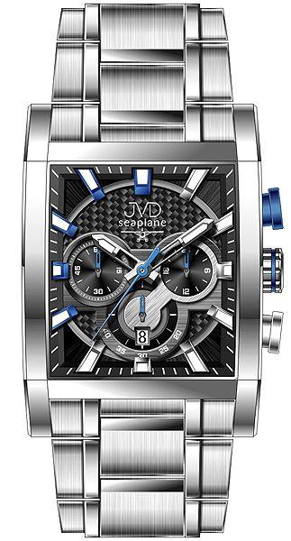 Pánské hodinky JVD W54.3 Seaplane - Hodinky Casio a Citizen c5be6a6fabe