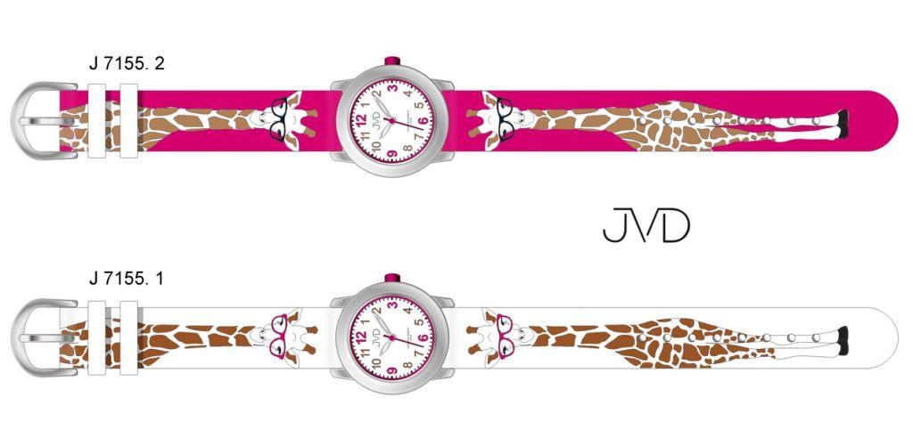 Dětské hodinky JVD J7155.1 žirafa - Hodinky Casio a Citizen 3499f57e6ec