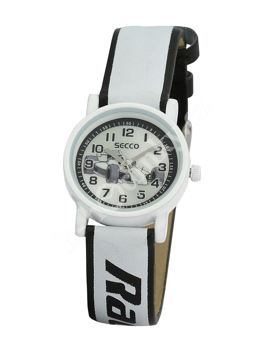 Dětské hodinky Secco S K126-1 formule racing - Hodinky Casio a Citizen 52ecb09a9e9