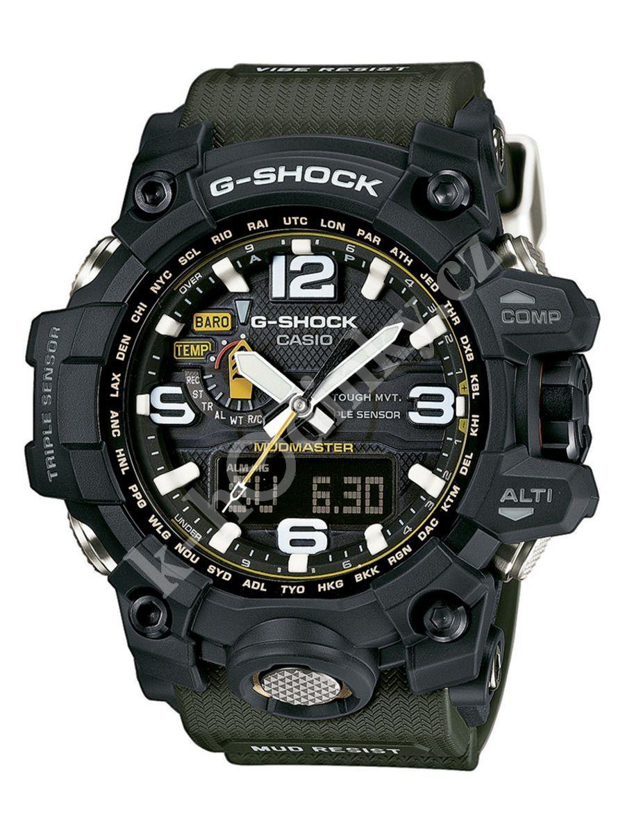 Pánské hodinky Casio G-Shock GWG 1000-1A3 e6db623ee5