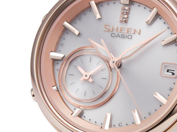 Dámské hodinky Casio Sheen SHB 100CG-4A Bluetooth - Hodinky Casio a ... 104ba75e96
