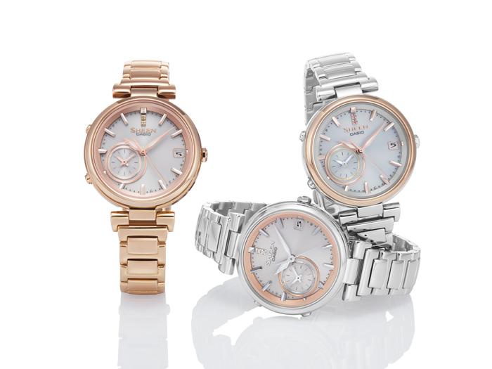 Dámské hodinky Casio Sheen SHB 100SG-7A Bluetooth 060c42adb3