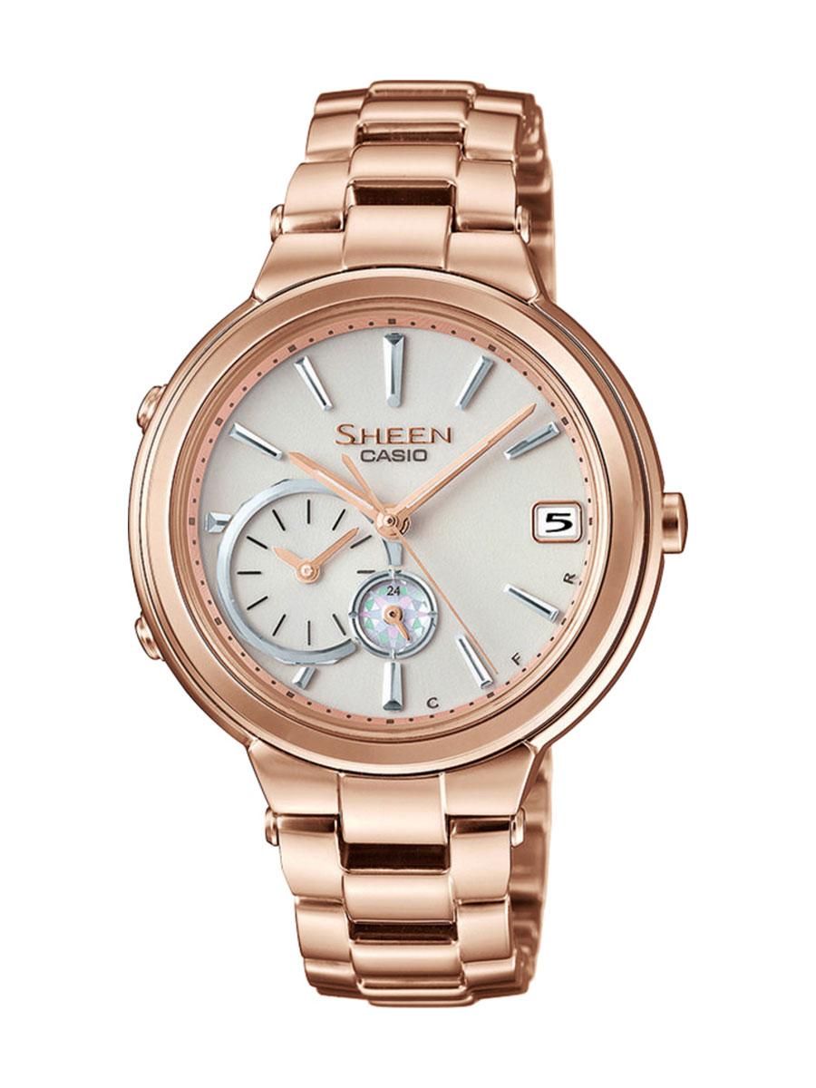 Dámské hodinky Casio Sheen SHB 200CG-9A Bluetooth 29dced80b3