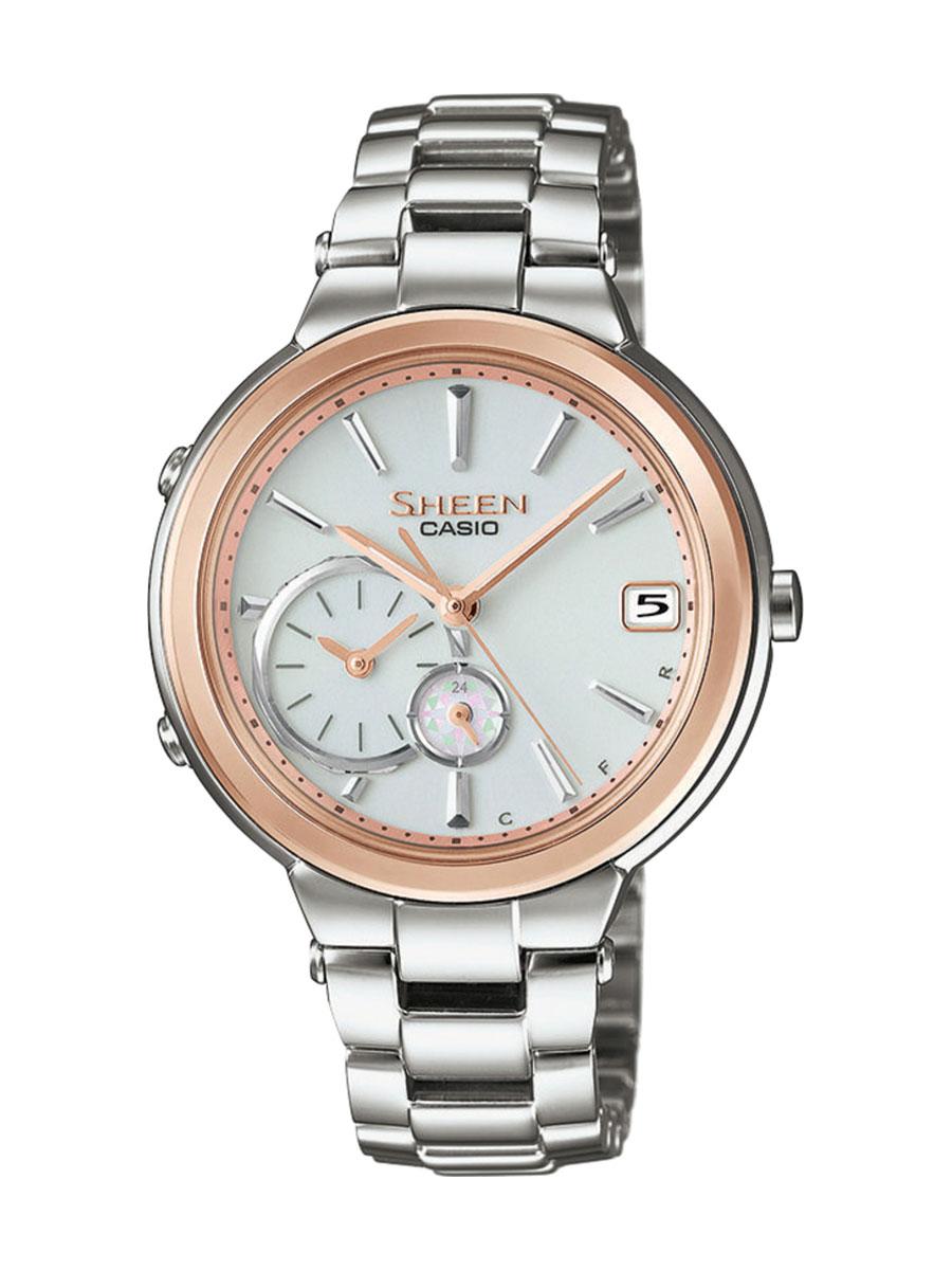 Dámské hodinky Casio Sheen SHB 200SG-7A Bluetooth - Hodinky Casio a ... 7a7640f4a68