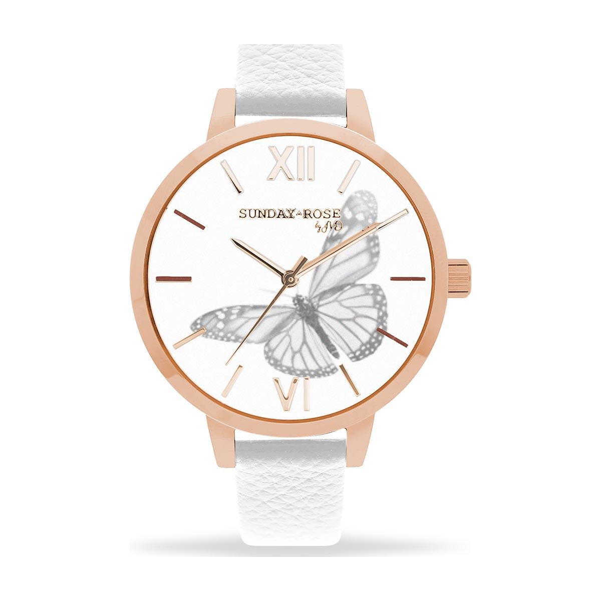 Dámské hodinky SUNDAY ROSE Alive BUTTERFLY SENSE - Hodinky Casio a ... 6dc7b64c28