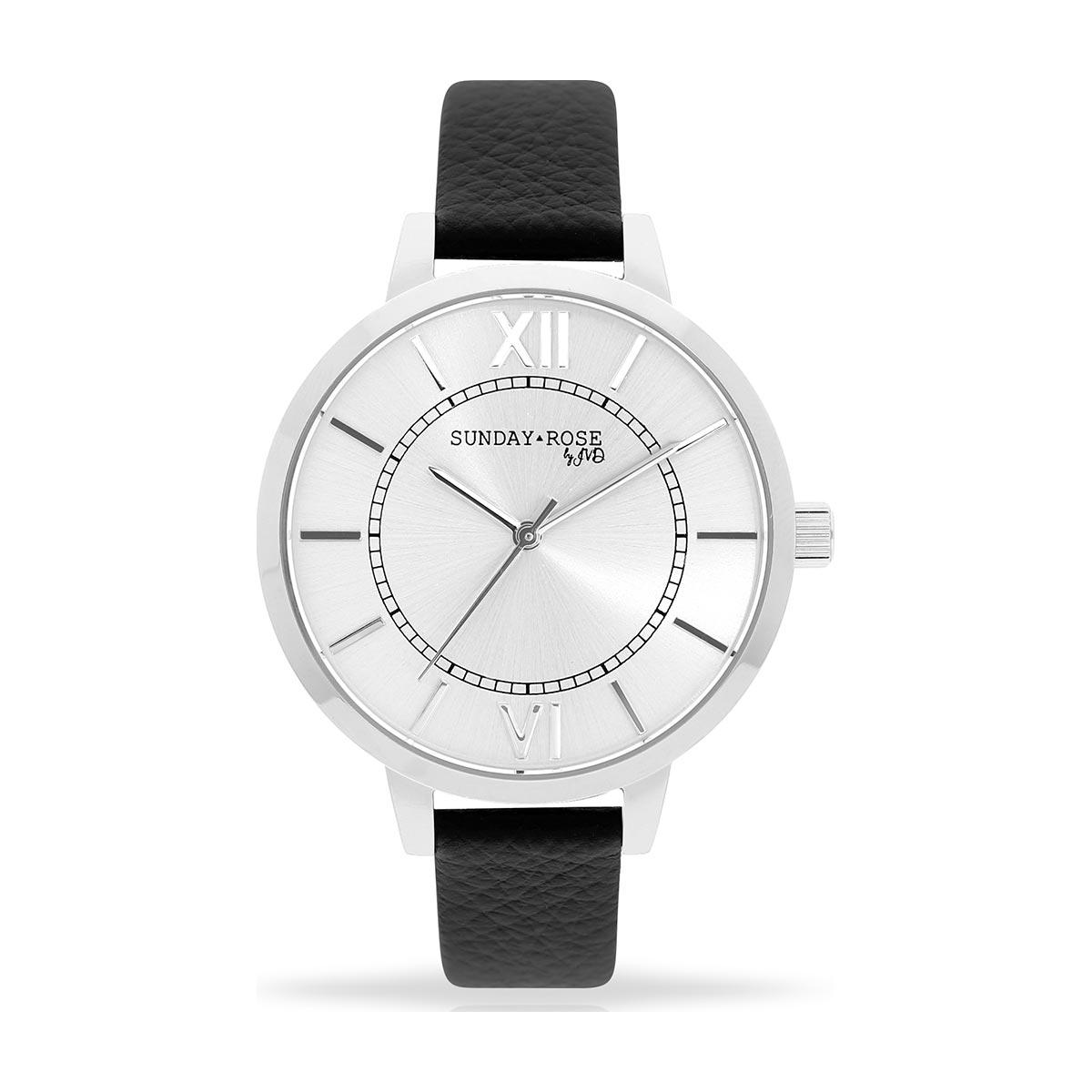 e1e78117c Dámské hodinky SUNDAY ROSE Classic FOREVER BLACK - Hodinky Casio a ...