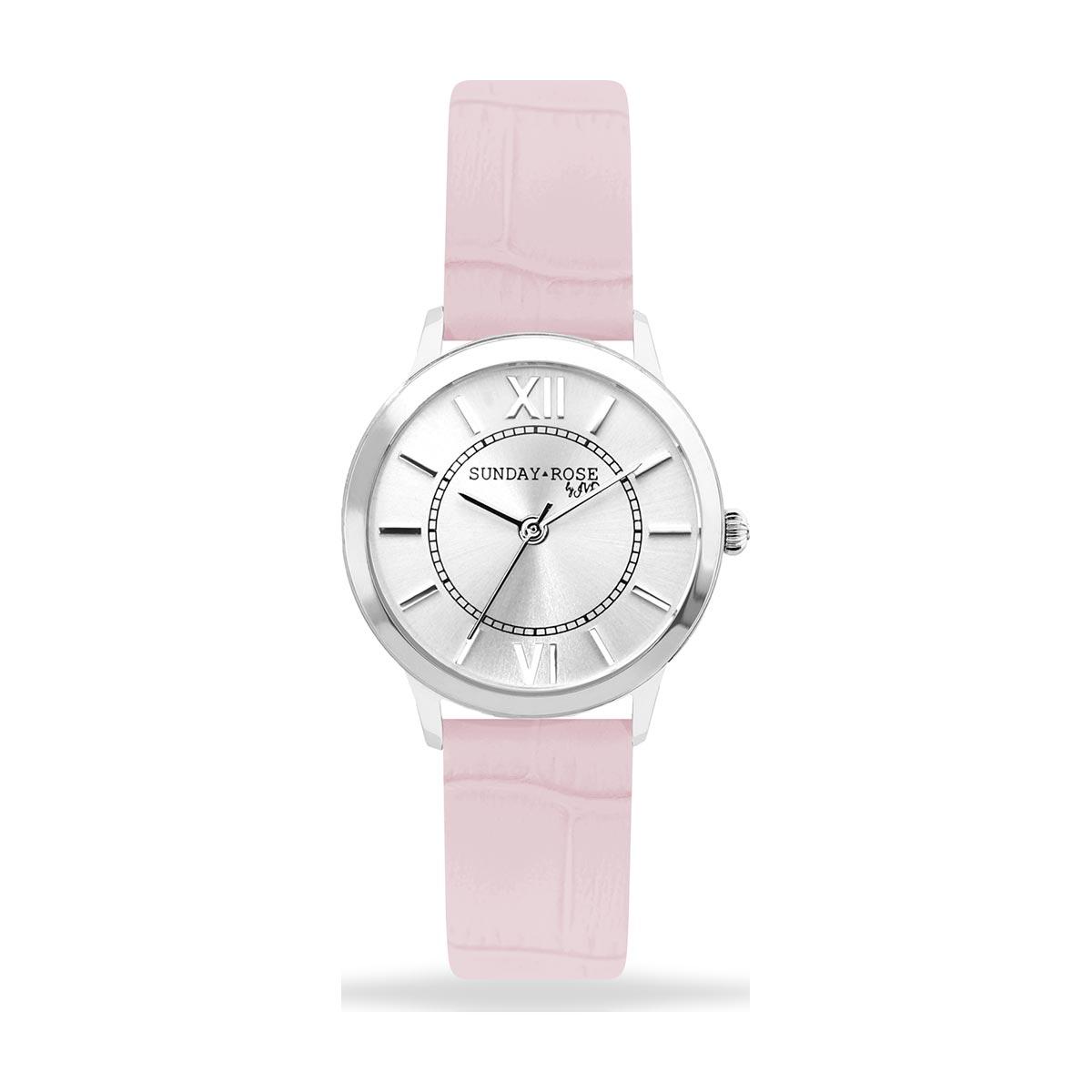 Dámské hodinky SUNDAY ROSE Darling SWEET PINK - Hodinky Casio a Citizen 34f0bf4c06