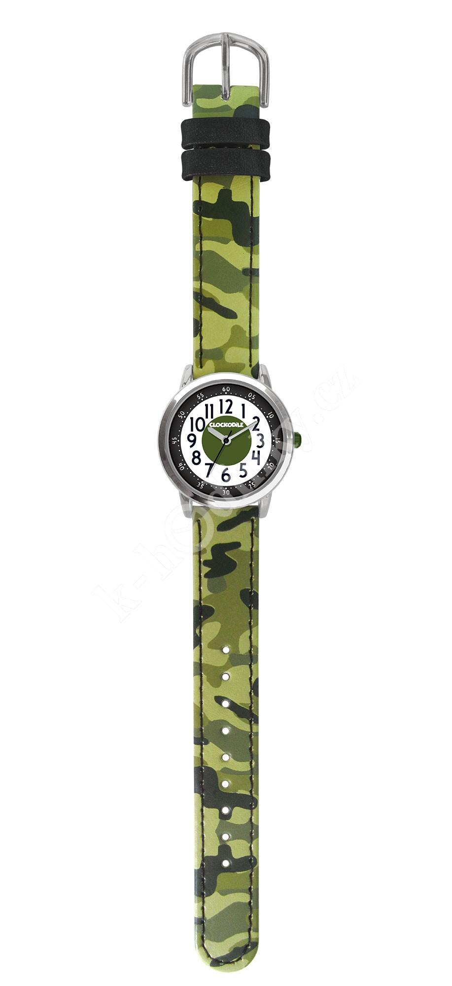Dětské hodinky Clockodile CWB0031 maskáčová - Hodinky Casio a Citizen 2a4f5c7c72