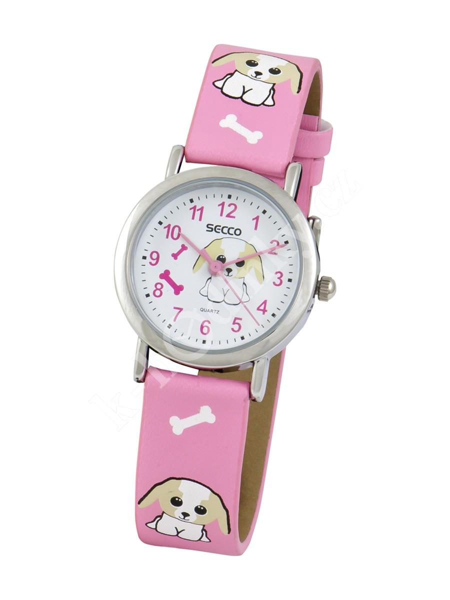 3b3e427f4b4 Dětské hodinky Secco S K501-4 pejsek - Hodinky Casio a Citizen