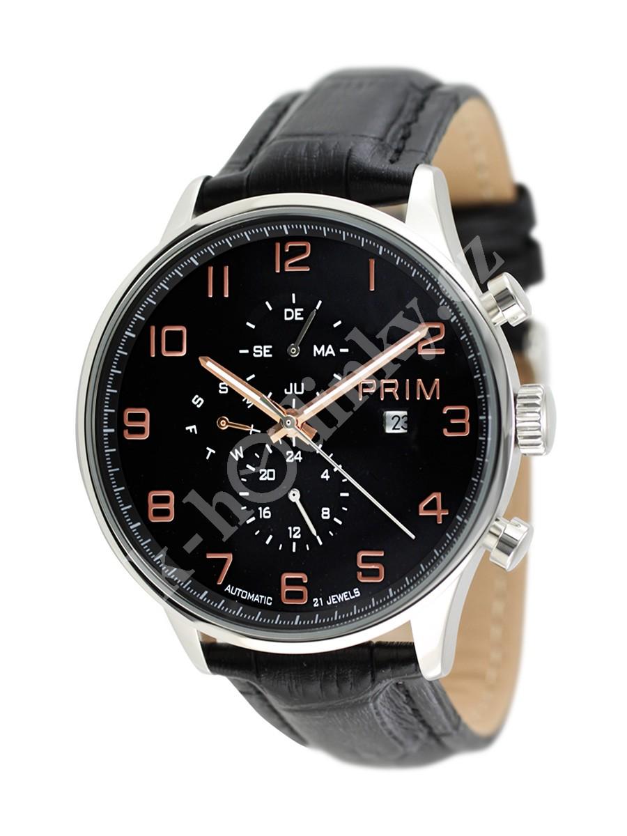 Pánské hodinky Prim Manager W01P.10696.B - Hodinky Casio a Citizen c9a2110c6c