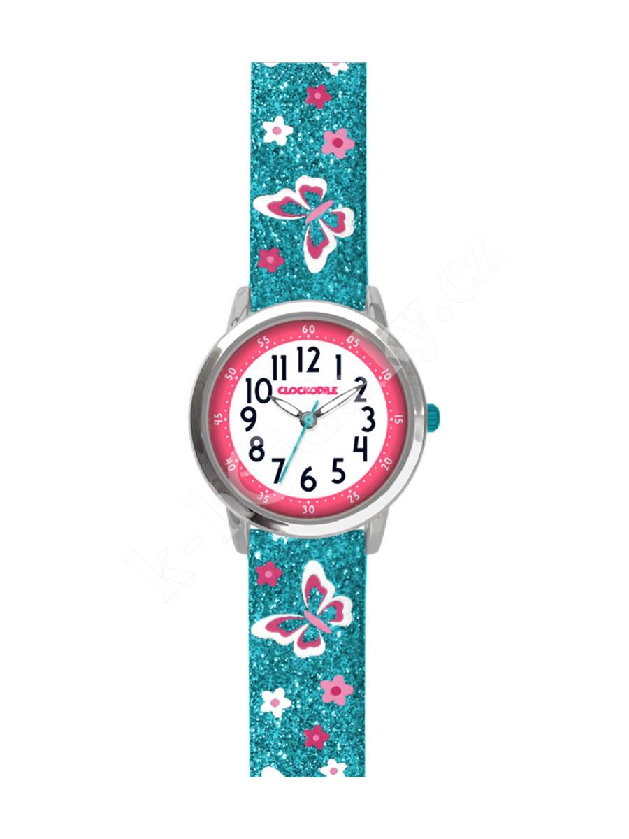 Dětské hodinky Clockodile CWG5040 motýli - Hodinky Casio a Citizen 8c1ffe83eb