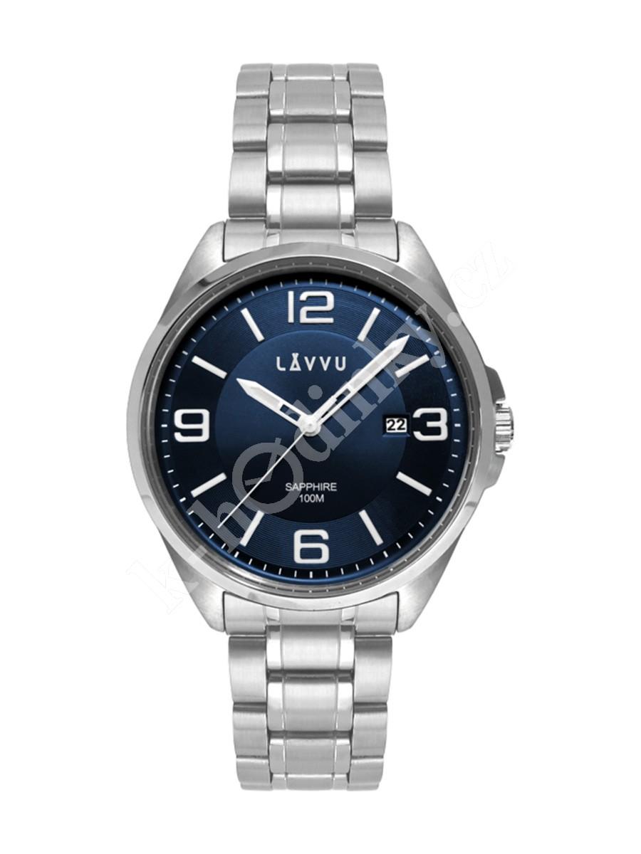 Pánské hodinky LAVVU Herning Silver LWM0091 - Hodinky Casio a Citizen 60fb8a1ab9