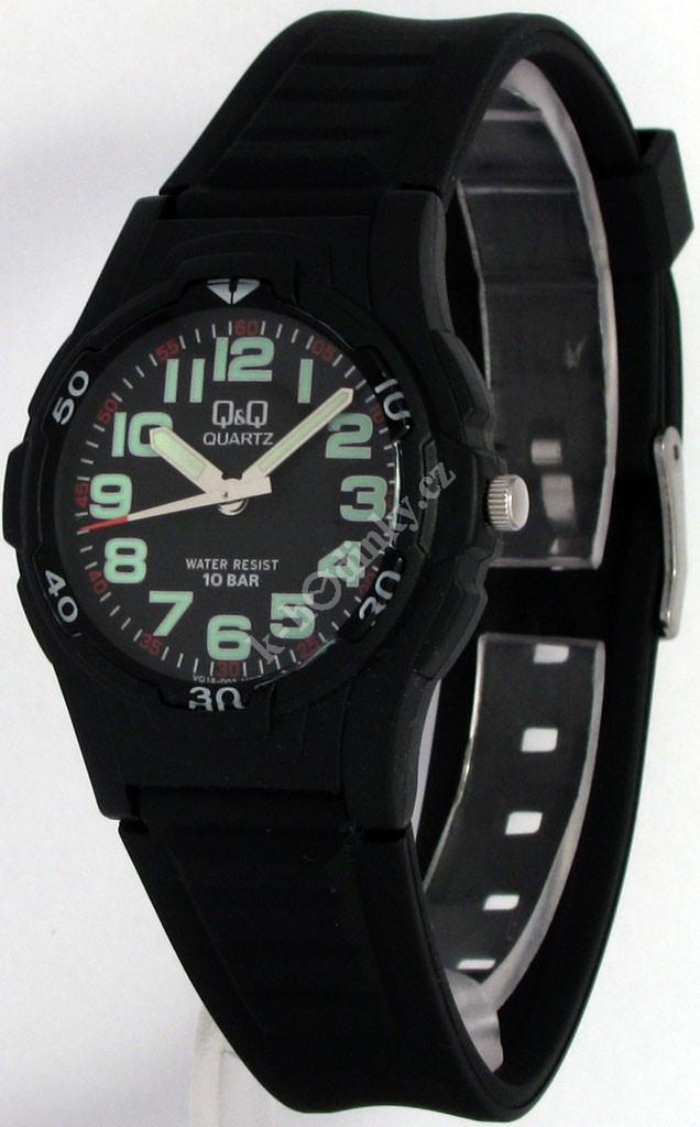 Dětské hodinky Q+Q VQ14-002 - Hodinky Casio a Citizen ed55826e96