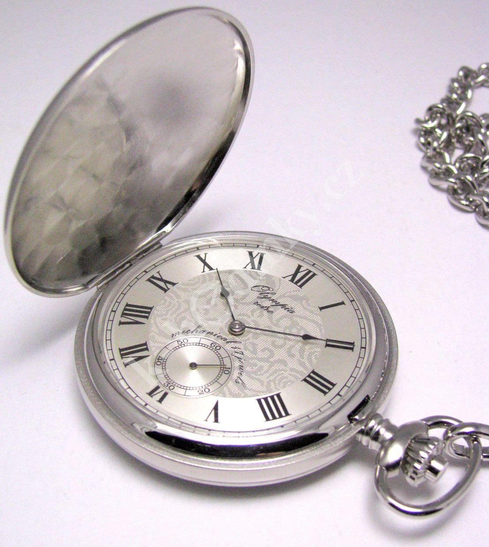 44619e52e7d Kapesní hodinky mechanické Olympia 35030 - 9312 - Hodinky Casio a ...